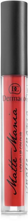 Жидкая матовая губная помада - Dermacol Matte Mania Liquid Matte Lip Colour
