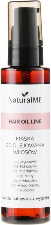 Маска-спрей для поврежденных волос - NaturalME Hair Oil Line