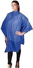 Духи, Парфюмерия, косметика Парикмахерская накидка 136х124см, синяя - Eurostil