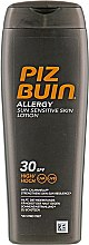 Духи, Парфюмерия, косметика Солнцезащитный лосьон для тела - Piz Buin Allergy Sun Sensitive Skin Lotion SPF30