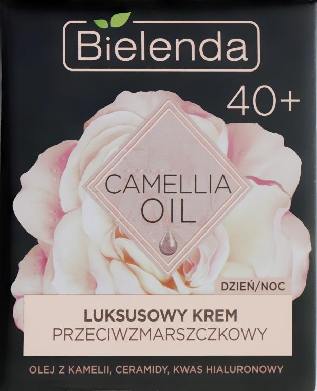Увлажняющий крем-концентрат против морщин 40+ - Bielenda Camellia Oil Luxurious Anti-Wrinkle Cream 40+