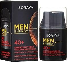 Духи, Парфюмерия, косметика Крем против морщин, увлажняет и разглаживает, 40+ - Soraya Men Energy