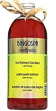 Духи, Парфюмерия, косметика Экстракт для душа - BingoSpa Peat Nectar For Bath With Honey