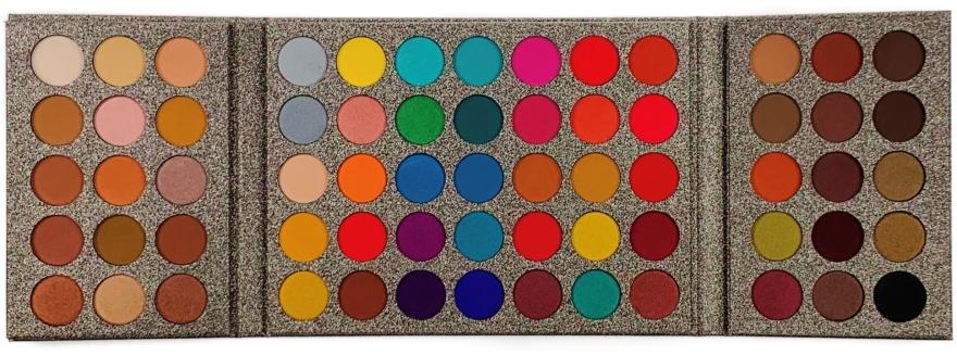 Профессиональная палетка теней для век, 65 цветов - King Rose MY Special Edition