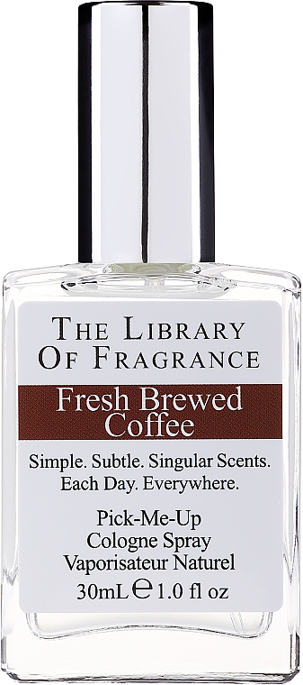 Demeter Fragrance The Library of Fragrance Fresh Brewed Coffee Pick-Me-Up Cologne Spray - Одеколон