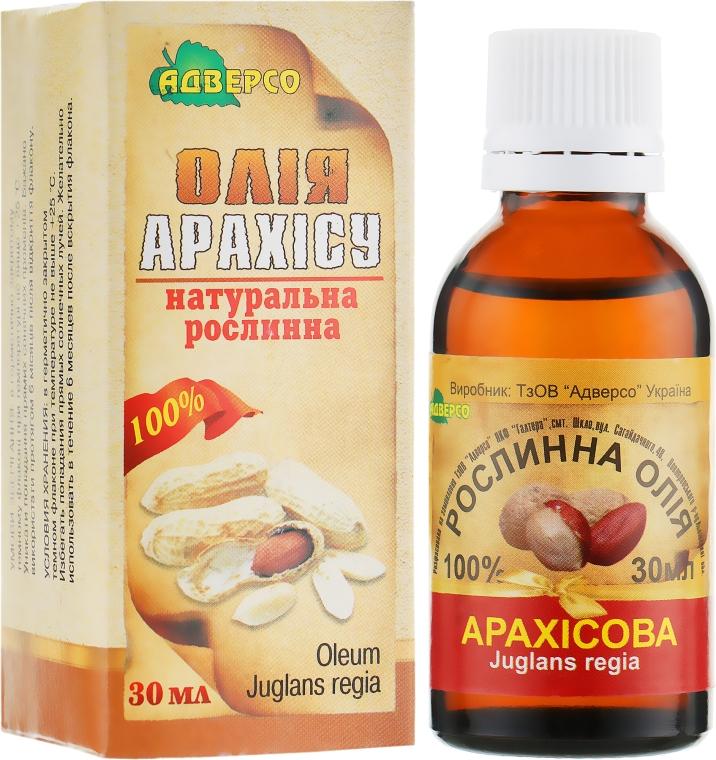 "Натуральное масло ""Арахисовое"" - Адверсо"