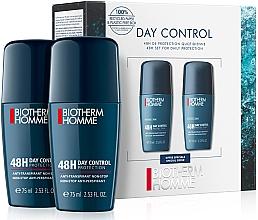Парфумерія, косметика Набір - Biotherm Homme Day Control  (deo/75mlx2)