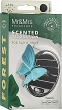 """Духи, Парфюмерия, косметика Ароматизатор в машину с ароматом огурца """"Голубая бабочка"""" - Mr&Mrs Forest Butterfly Cucumber"""