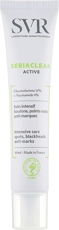Активный крем против воспаления и акне - SVR Sebiaclear Active Cream