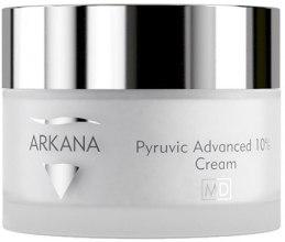 Духи, Парфюмерия, косметика Омолаживающий осветляющий крем с 10% пировиноградной кислотой - Arkana Pyruvic Advance 10% Cream