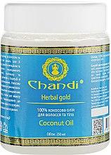 "Масло для волос и тела ""Кокосовое"" - Chandi Coconut Oil  — фото N5"