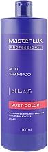 Духи, Парфюмерия, косметика Кислотний шампунь после окрашивания и осветления волос - Master LUX Professional Acid Shampoo Post Color