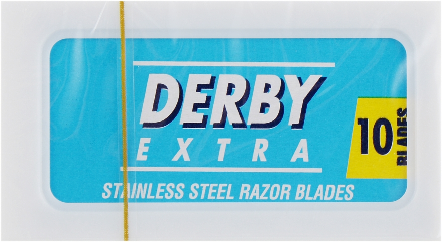 Лезвия - Derby Extra Stainless Double Edge — фото N2