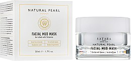 Духи, Парфюмерия, косметика Грязевая маска для лица на основе грязей, минералов и солей Мёртвого моря - Satara Natural Pearl Facial Mud Mask