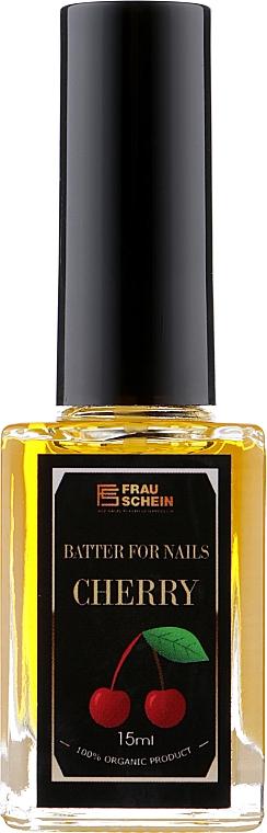 "Баттер жидкий для ногтей и кутикулы ""Вишня"" - Frau Schein Batter For Nails Cherry"
