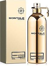 Духи, Парфюмерия, косметика Montale Amber & Spices - Парфюмированная вода