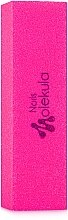 Духи, Парфюмерия, косметика Баф 4-х сторонний М-32, розовый неон 120/120 - Nails Molekula