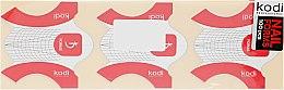 Бумажные одноразовые формы для ногтей - Kodi Professional — фото N2
