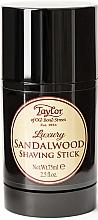 "Духи, Парфюмерия, косметика Стик для бритья ""Сандаловое дерево"" - Taylor Of Old Bond Street Sandalwood Shaving Stick"