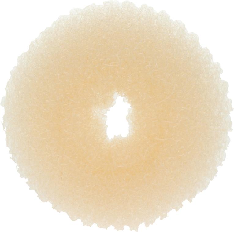 Валик для прически 20360, светло-бежевый, размер S - Top Choice