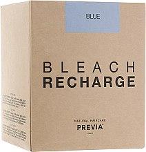 Духи, Парфюмерия, косметика Беспылевая осветляющая пудра, голубая - Previa Bleach (запасная упаковка)