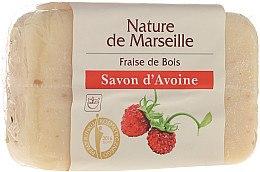 Духи, Парфюмерия, косметика Овсяное мыло с ароматом земляники - Nature de Marseille Soap