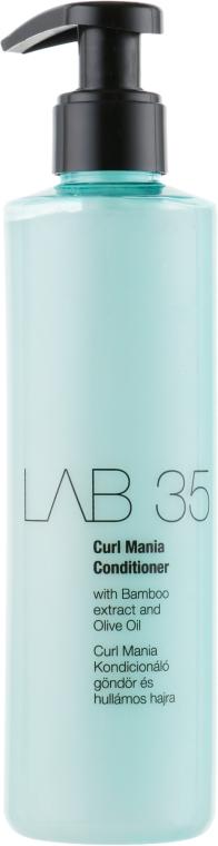 Кондиционер для кудрявых и вьющихся волос - Kallos Cosmetics Lab 35 Curl Mania Conditioner