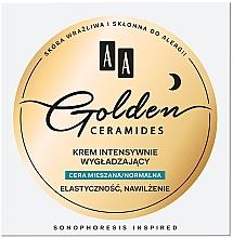 Духи, Парфюмерия, косметика Ночной разглаживающий крем для комбинированной и нормальной кожи - AA Golden Ceramides Intensive Smoothing Night Cream