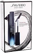 Духи, Парфюмерия, косметика Набор - Shiseido Full Lash Multi-Dimension Mascara Kit (mascara/8ml + fluid/1ml + lipstick/2,5ml)