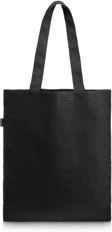 "Сумка-шоппер, черная ""Perfect Style"" - Makeup Eco Friendly Tote Bag Black"