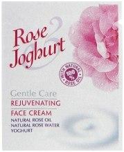 Духи, Парфюмерия, косметика Омолаживающий крем для лица - Bulgarska Rosa Rose & Joghurt Rejuvenating Face Cream (пробник)
