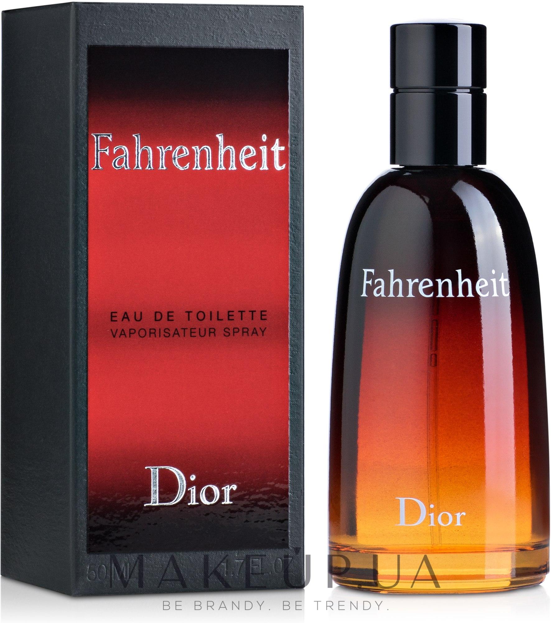 Dior Fahrenheit - Туалетная вода — фото 50ml