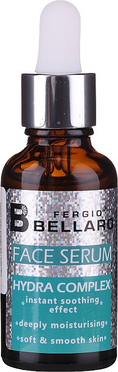 Сыворотка для лица - Fergio Bellaro Face Serum Hydra Complex