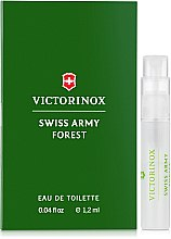 Духи, Парфюмерия, косметика Victorinox Swiss Army Forest - Туалетная вода (пробник)