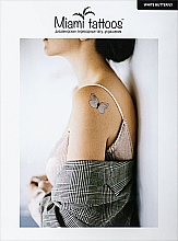 Духи, Парфюмерия, косметика Переводные тату - Miami Tattoos White Butterfly