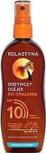 Духи, Парфюмерия, косметика Масло-спрей для загара водостойкое с SPF 10 - Kolastyna