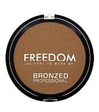 Духи, Парфюмерия, косметика Бронзер для лица - Freedom Makeup London Bronzed Proffesional Bronzer