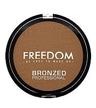 Духи, Парфюмерия, косметика Бронзер для лица - Freedom Makeup London Bronzed Proffesional Bronzer