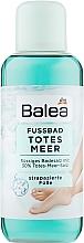 Парфумерія, косметика Ванна для ніг із сіллю Мертвого моря - Balea Fussbad Totes Meer
