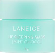 Духи, Парфюмерия, косметика Ночная восстанавливающая маска для губ - Laneige Lip Sleeping Mask Mint Choco (мини)