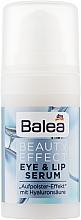 Духи, Парфюмерия, косметика Сыворотка для глаз и губ - Balea Beauty Effect Eye&Lip Serum