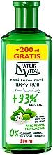 Духи, Парфюмерия, косметика Укрепляющий шампунь для волос - Natur Vital Happy Hair Reinforcing Shampoo