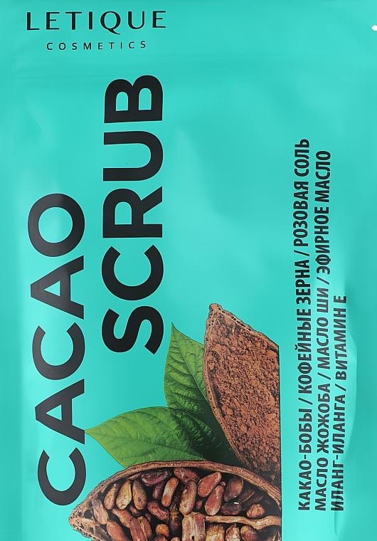 "Скраб ""Какао"" - Letique Cosmetics Cacao Scrub"