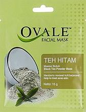 Духи, Парфюмерия, косметика Порошковая маска для лица от акне с черным чаем - Ovale Teh Hiten Mask