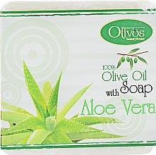 """Духи, Парфюмерия, косметика Натуральное оливковое мыло """"Алоэ вера"""" - Olivos Herbs & Fruits With Aloe Vera Soap"""