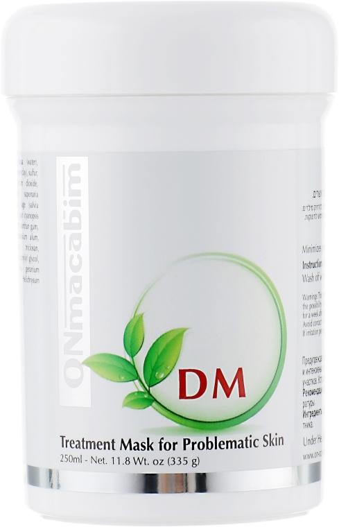 Маска для лечения акне себорегулирующая - Onmacabim DM Acne Treatment Mask