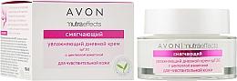 Духи, Парфюмерия, косметика Увлажняющий дневной крем для чувствительной кожи - Avon Nutra Effects Soothe Hydrating Day Cream SPF 20