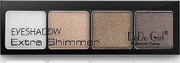 Тени для век - DoDo Girl Eyeshadow Extra Shimmer — фото N2