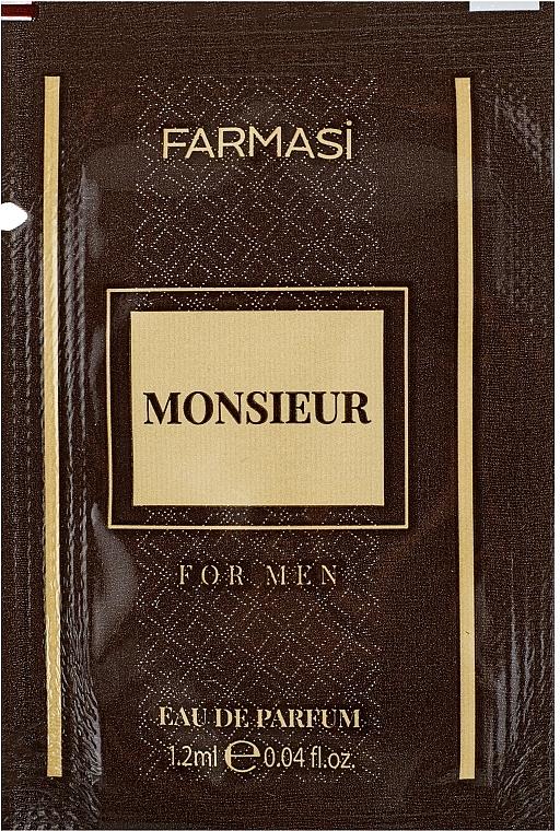 Farmasi Monsieur - Парфюмированная вода (пробник)