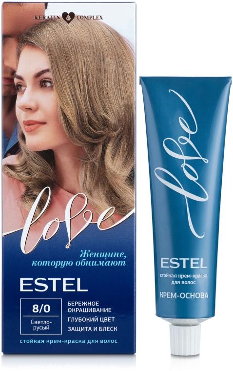 Стойкая крем-краска для волос - Estel Professional Love Ton